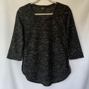 Simply Vera VeraWang 3/4 Sleeve Shirt